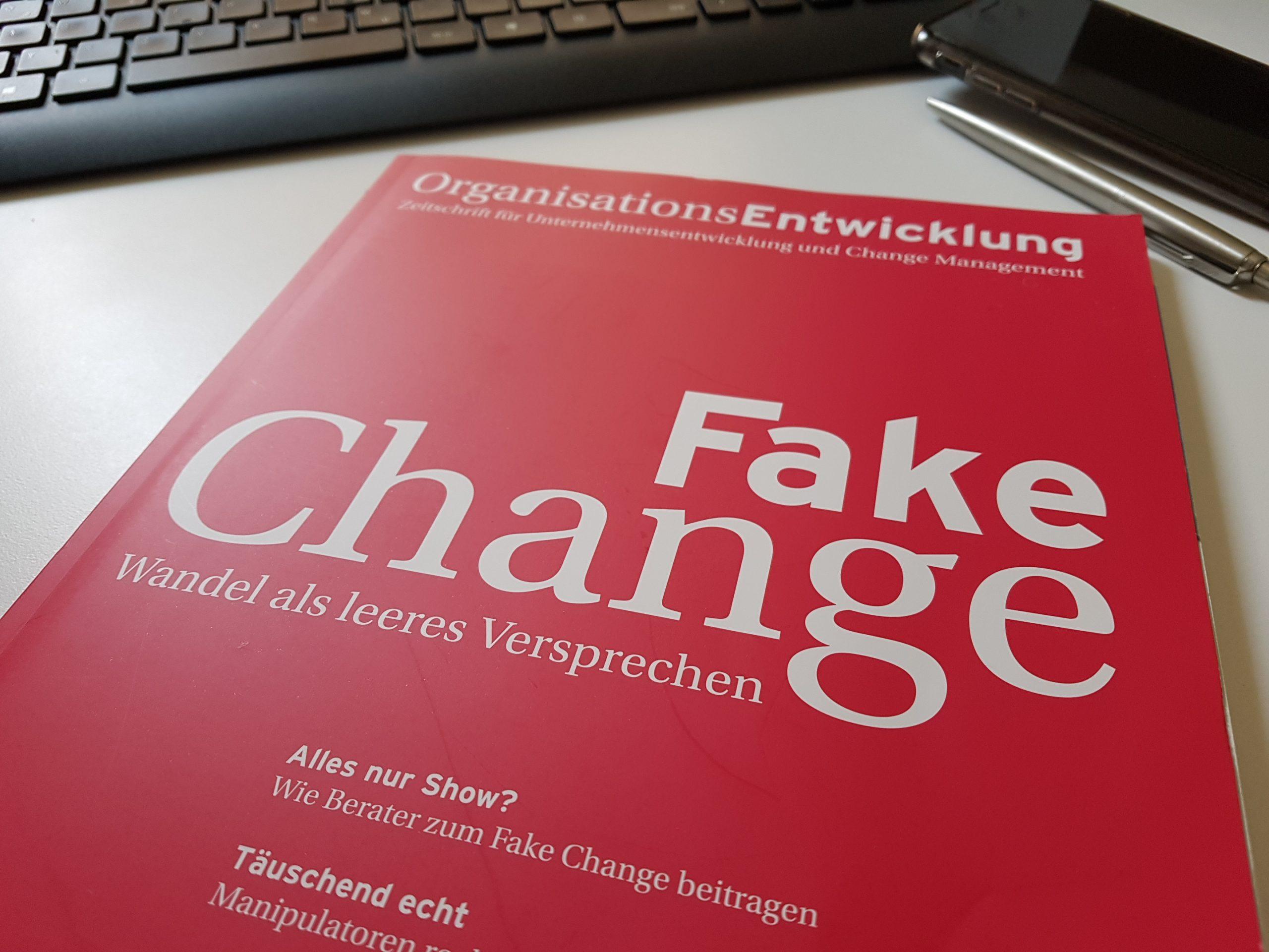 Von Fehlerkultur und Fake Change